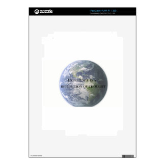 experience reflection decal for the iPad 2
