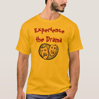 Experience the Drama with KBP on back T-Shirt