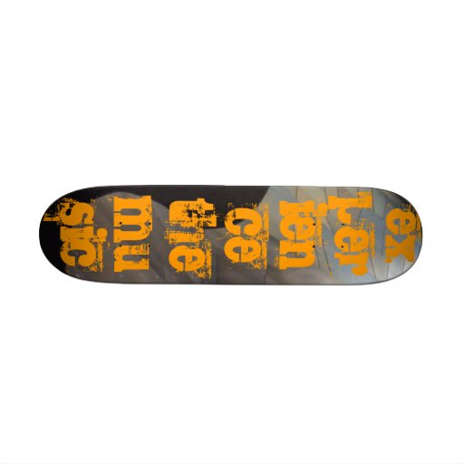 experience the music skateboard