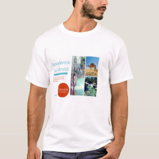 Experience The World- Become A Polyglot T-Shirt