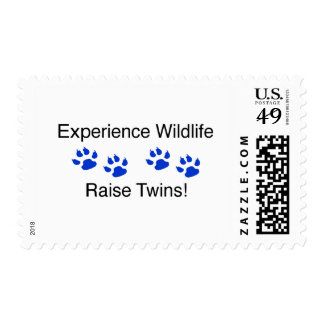 Experience Wildlife Raise Twins Stamps
