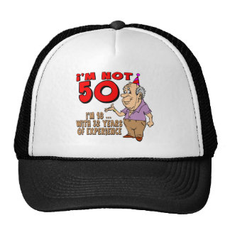 Experienced 18 Year Old 50th Birthday Gifts Hats