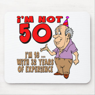 Experienced 18 Year Old 50th Birthday Gifts Mouse Pad