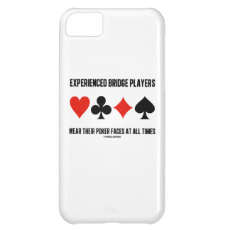 Experienced Bridge Players Wear Their Poker Faces iPhone 5C Cover