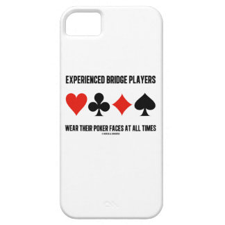 Experienced Bridge Players Wear Their Poker Faces iPhone SE/5/5s Case