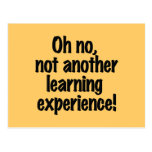 Experiencia de aprendizaje postales