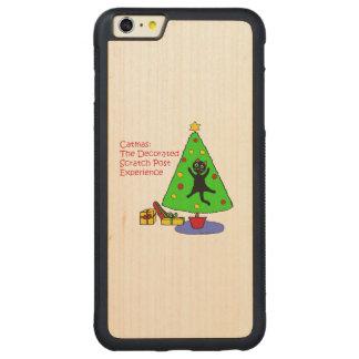 Experiencia de Catmas Funda Para iPhone 6 Plus De Carved® De Nogal