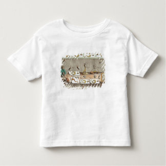 Experiment on frogs toddler t-shirt