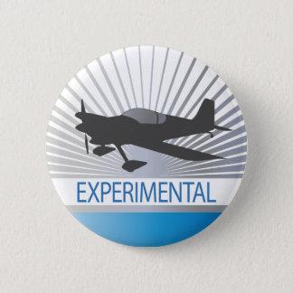 Experimental Aircraft Pinback Button
