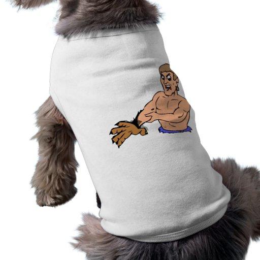 Experimental bearman pet clothing