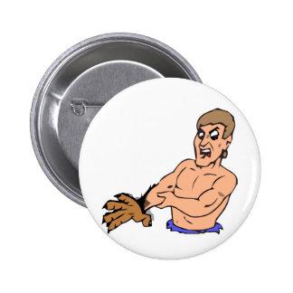 Experimental bearman pinback button