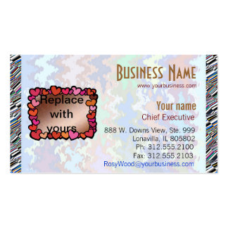 Experimental Designs : Change Font/Text/Color Business Card