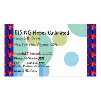 Experimental Designs : Change Font/Text/Color Business Card Template