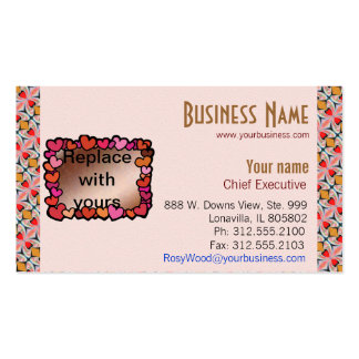 Experimental Designs : Change Font/Text/Color Business Cards
