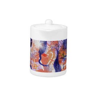 Experimental forest teapot