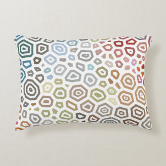Experimental pattern 2 accent pillow
