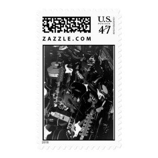 experimente el proyecto de la música timbres postales