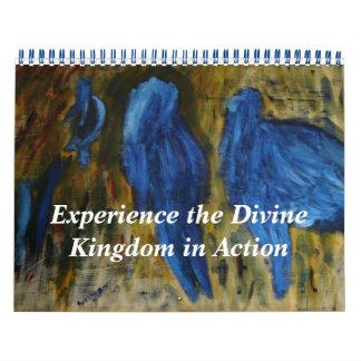 Experimente el reino divino en la acción calendarios