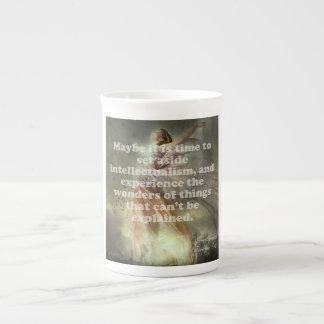 Experimente la taza de las maravillas taza de porcelana