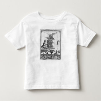Experimenting with electricity toddler t-shirt