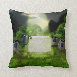 Experimento extranjero de las ovejas almohada