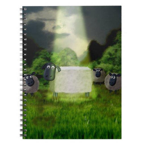 Experimento extranjero de las ovejas libretas