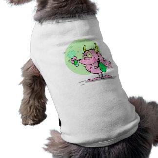 experimento lindo de la ciencia de la criatura del camisetas de perro