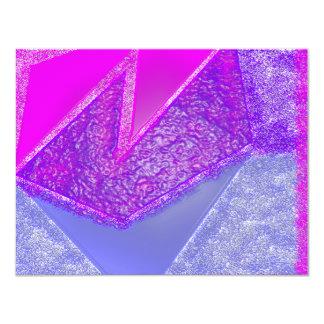 """Experimento rosado invitación 4.25"""" x 5.5"""""""