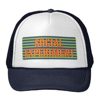 Experimento social gorras de camionero