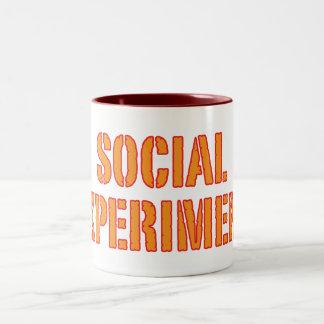 Experimento social taza de dos tonos
