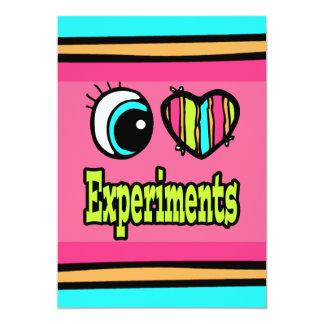 """Experimentos brillantes del amor del corazón I del Invitación 5"""" X 7"""""""