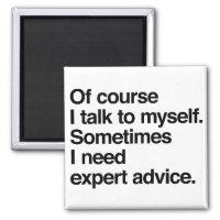 Expert Advice Magnet