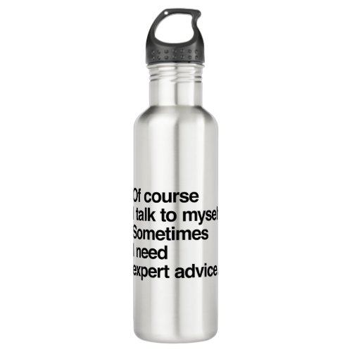 Expert Advice Stainless Steel Water Bottle