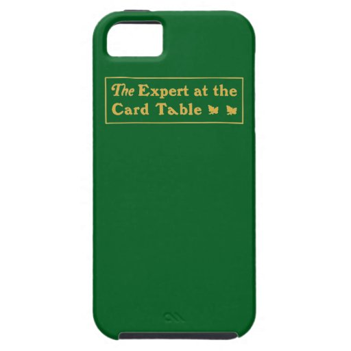 Expert at the Card Table for iPhone 5 iPhone 5 Case