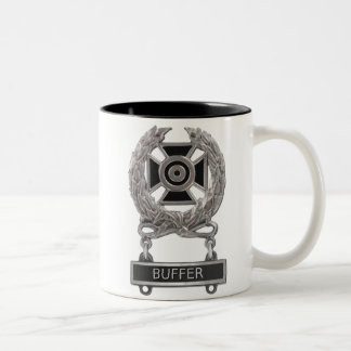 Expert Buffer Badge Two-Tone Coffee Mug