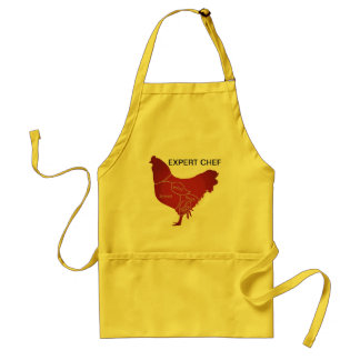 EXPERT CHICKEN CHEF ADULT APRON