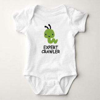 Expert crawler inch worm child shirt