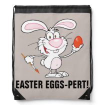 Expert Easter Egg Decorator Drawstring Bag