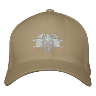 Expert Field Medical Badge Embroidered Baseball Hat