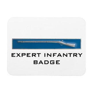 Expert Infantry Badge Rectangle Magnets