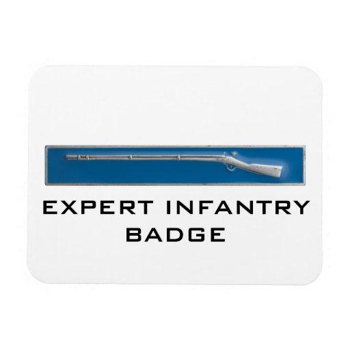 Expert Infantry Badge Rectangular Photo Magnet