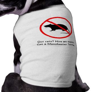 Expert Manchester Terrier Exterminator Dog Tshirt