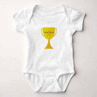 """Expert Napper"" Baby Bodysuit"