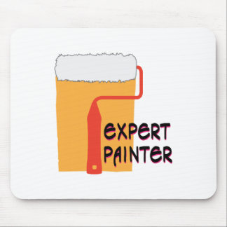 Expert Painter Mouse Pad