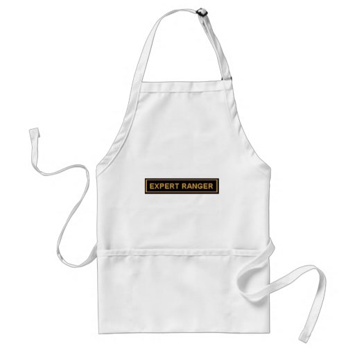 EXPERT RANGER ARMY 'PATCH' ADULT APRON