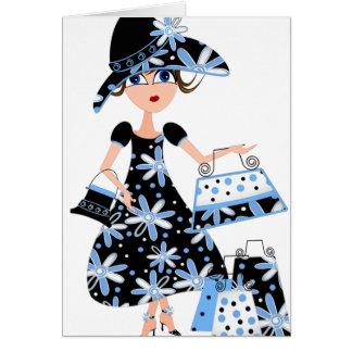 Expert Shopper in Blue Card