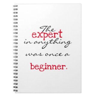 Expert was once a beginner notebook