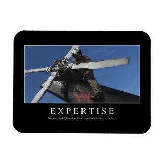 Expertise: Inspirational Quote Magnet
