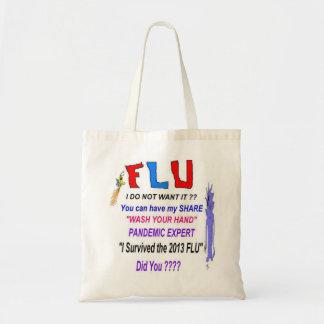 Experto del pandémico de la gripe bolsa de mano