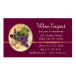 Experto del vino tarjeta personal